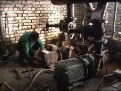 Новый насос устанавливают в котельной мкр Сопка Биробиджана