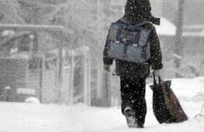 Из-за резкого похолодания в ЕАО отменяются занятия в школах и прогулки в детсадах