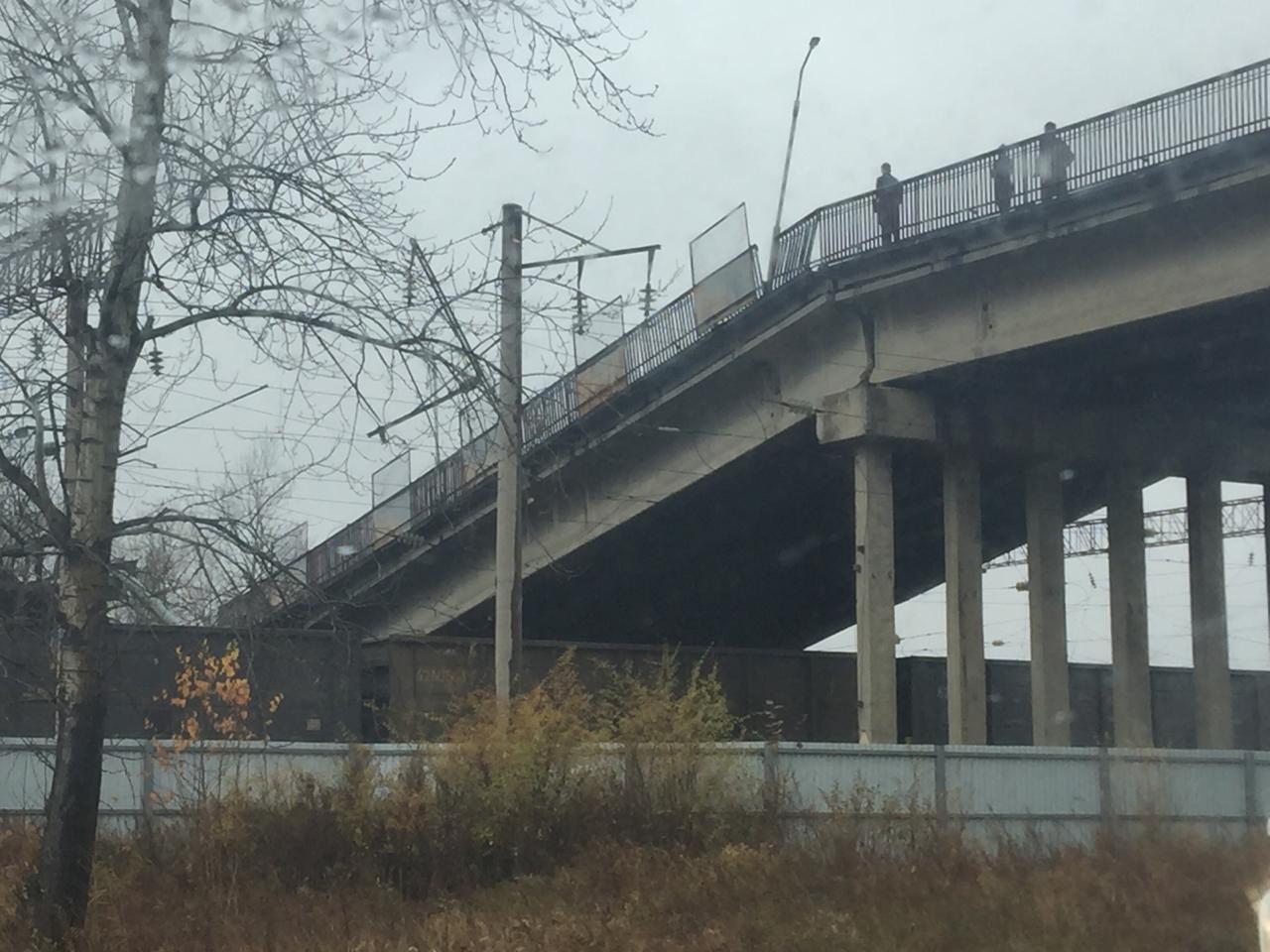 В Приамурье мост рухнул на проходивший по главному пути Транссиба поезд