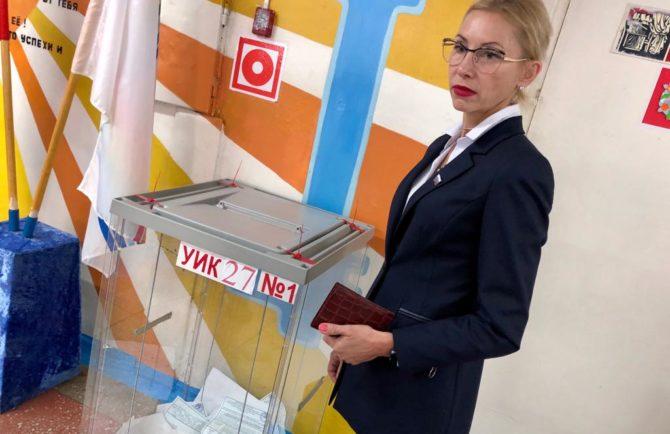 Победу на довыборах депутата Заксобрания ЕАО, по предварительным данным, одержала Славина Елизавета
