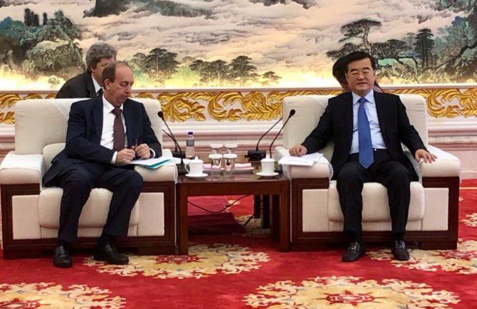 Инвестиционные проекты китайских партнёров в ЕАО обсудил глава региона с первым секретарем компартии провинции Хейлунцзян