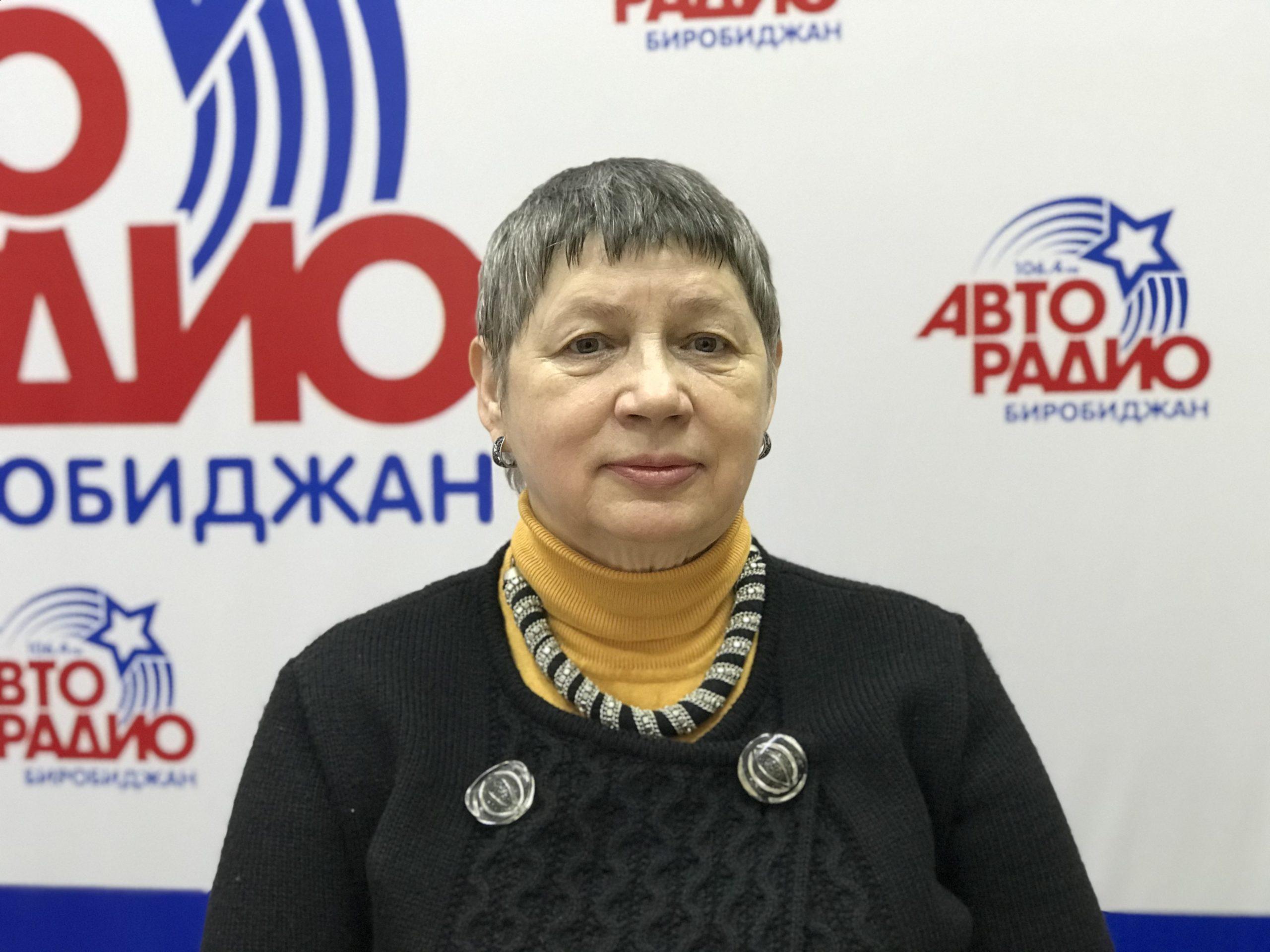 С Днём учителя поздравляет коллег руководитель педагогической ассоциации ЕАО Татьяна Файн