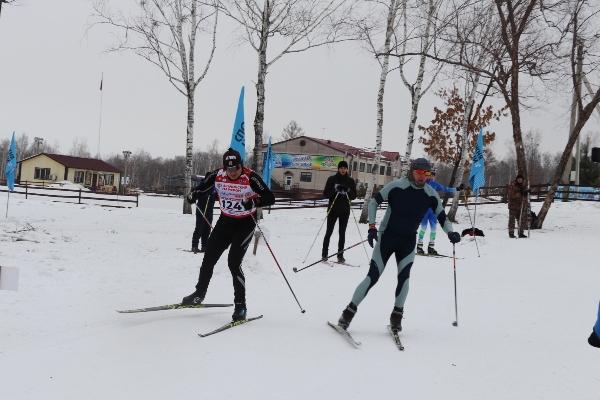 Первыми на лыжный финиш прибыли представители УФСИН России по ЕАО