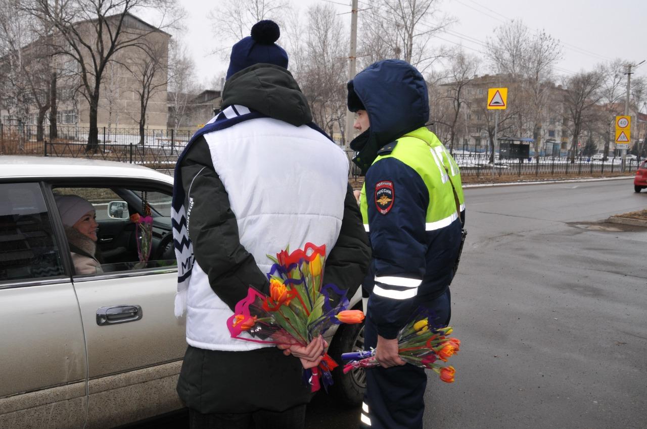 Поздравление от сотрудников дпс с 8 марта