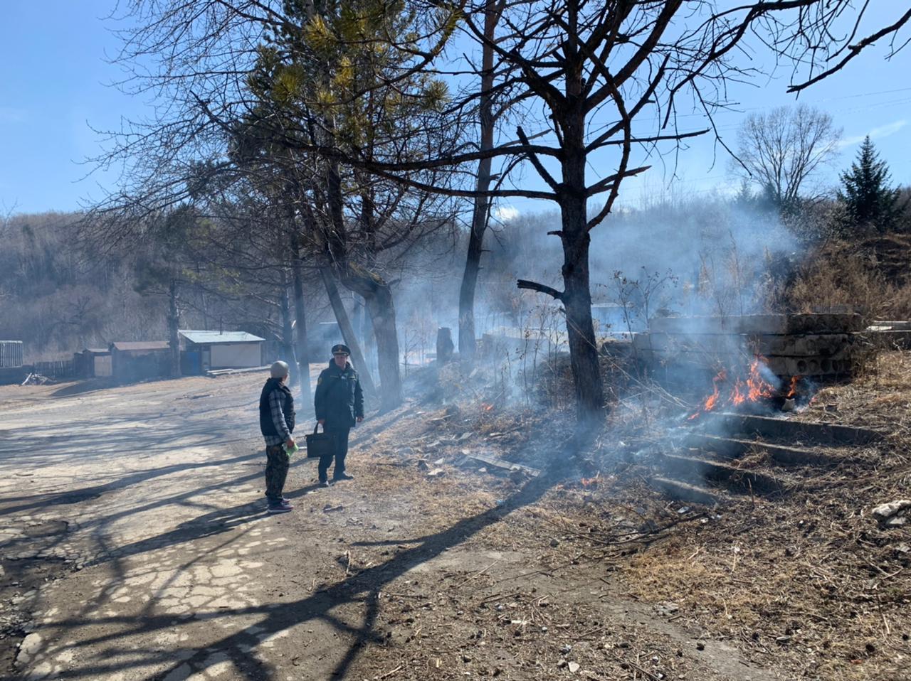 Привлекли к ответственности за поджог травы жительницу поселка в Облученском районе ЕАО