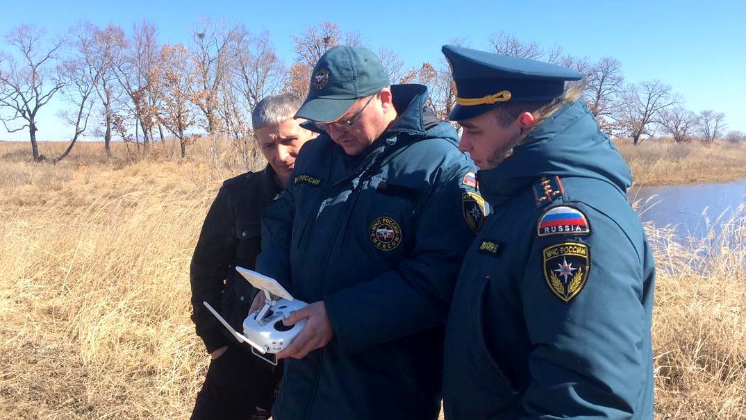 Нарушителей с помощью беспилотных летательных аппаратов выявляют на территории ЕАО сотрудники МЧС России