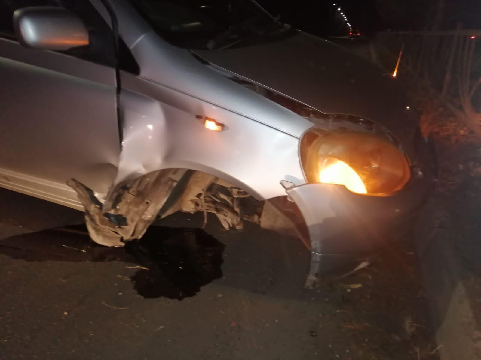 Пьяный и без прав водитель иномарки спровоцировал одиночное ДТП в Биробиджане